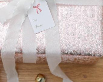 Holiday Gift Tags - Christmas Gift Tags - Handmade Tag - Gift Wrap - Holiday Labels - Holiday Baking Tags - Set of 25