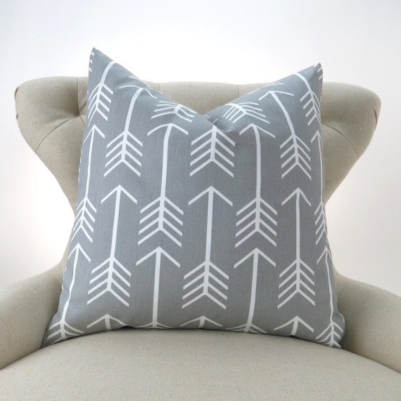 Gray Floor Pillows : Gray Floor Pillow Cover Euro Sham Cushion Cover Big Pillow