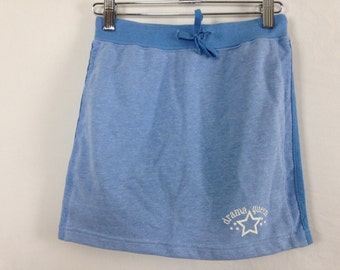 90s drama queen baby blue skirt size S/M