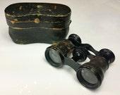 Opera Glasses / Binoculars - Signed Lemaire Fabt Paris, Vintage to Antique French Field / Theatre Glasses, Jumelles + Original Case!