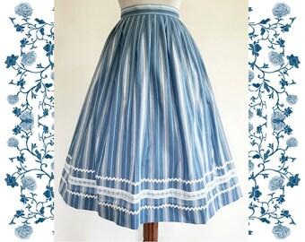 Vintage Dirndl Skirt