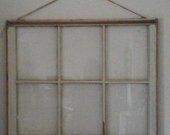 Old vintage 6 panel windiw