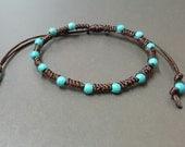 Hippie  Turquoise  Bracelet