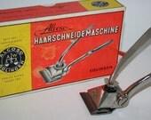 German Solingen Alcoso - Vintage Manual Hair Clipper - Trimmer - WWII Era