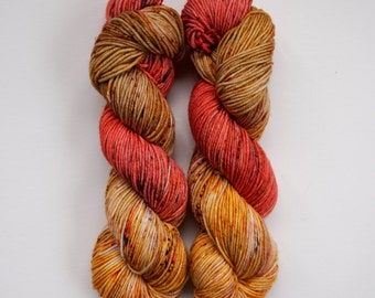 godric - hand dyed DK weight yarn - 4 ply - 100% SW merino