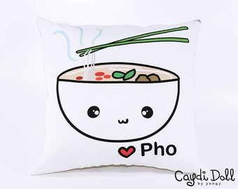 12x12 Love Pho Pillow