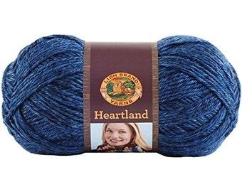 Lion Brand Heartland Yarn in Olympic