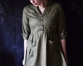 Dress / The Artist / Peter Pan Collar Dress / Fall Dresses for Women / Retro Dresses for Women / Retro Dress / Vintage Dresses for Women