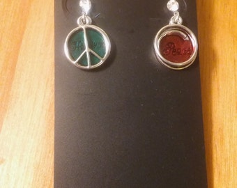 Peace and Happiness Earrings