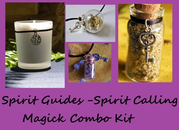 Spirit Guides Combo Kit Necromancy Ouija Ritual Faery Magick Nature Spirit Divination Ritual Kit