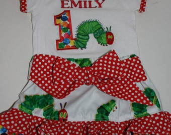 Hungry Caterpillar Birthday Outfit
