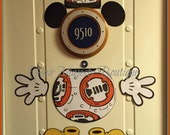 Mickey Mouse as BB8 Body Part Porthole Magnet For Cruise Door