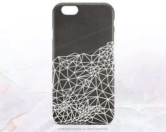 iPhone 7 Case Geometric Gray iPhone 7 Plus iPhone 6s Case iPhone SE Case iPhone 6 Case iPhone 5S Case Galaxy S7 Case Galaxy S6 Case I101