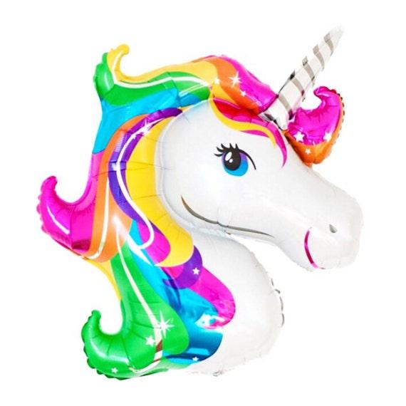 Rainbow Unicorn Balloon Giant Unicorn Mylar Balloon