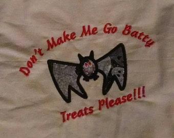 Applique Halloween Treat Bags