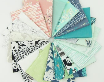 Pandalicious Fat Quarter Bundle - Pandalicious collection - Art Gallery Fabrics - 20 Fat Quarters - 5 Yards Total