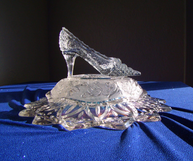 Cinderella glass slipper fairy tale princess russian crystal