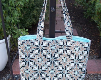 Beautiful Art Deco Print Tote Bag