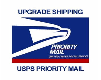 Upgrade to Priority USPS Shipping