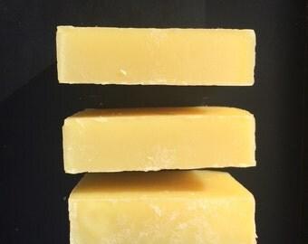 Lemongrass Soap - Cold Process Soap - Vegan - Handmade - Skin Care Soap