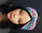 Turban Headband Multi colors Jersey knit womens