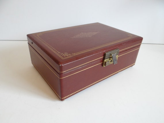 vintage swiss jewelry music box plays some enchanted evening
