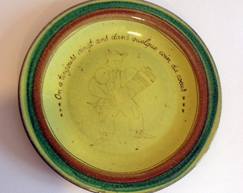 Antique French Plate 10 % off this week