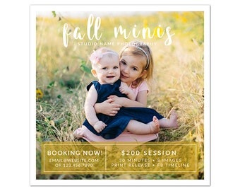 MB8 :. Square Marketing board | Fall Minis