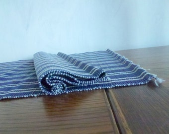 two bamboo placemats