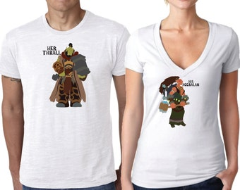 World of Warcraft shirts, Warcraft Shirts, WOW Shirts, Horde Shirts, Gamer Shirts, Alliance Shirts, Thrall and Aggralan Shirts