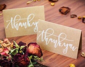 Handwritten Thank You Cards
