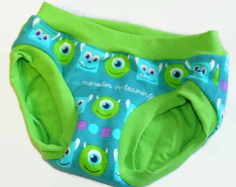 Monster in Training Custom Made Children's Undies - Custom Made Underwear