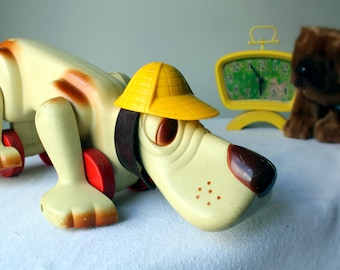 Vintage Dog pull-toy Item #00761