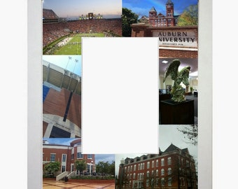 Auburn University Picture Frame Photo Mat Unique School Graduation Gift Personalized