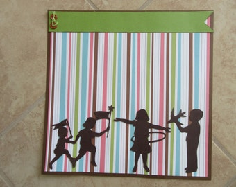 Premade 12x12 Scrapbook Page