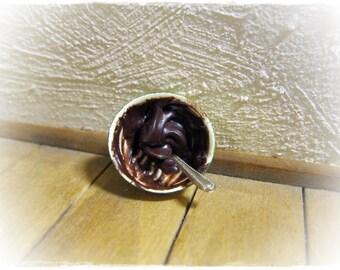 Bowl Of Chocolate Pudding