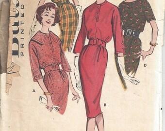 SALE 30% OFF Butterick 9060 Kimono Sleeve Mad Men Sheath Dress Sz 14