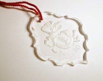 Gorman Crystal Ornament 1990