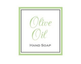 Olive Oil - Liquid Hand Soap
