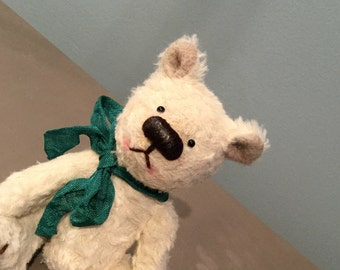 Clarence - One of a Kind Miniature Artist Bear
