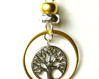 Tree of Life Necklace, Tree of Life Charm, Gold Tree of Life symbol, Tree of  Life Jewelry, Silver & Gold, Tree of Life, Tree of Life choker