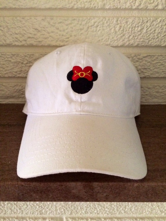 Disney Hat Minnie Or Mickey Design By Sosally1 On Etsy