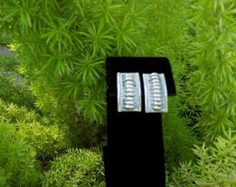 Southwest Sterling Silver Earrings