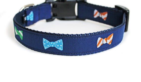 Amazing Dog Collar Bow Adorable Dog - il_570xN  Picture_234686  .jpg