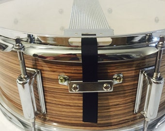 Custom Snare Flair Drum Straps Percussion Black
