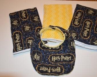Harry Potter Burp Cloth/Dribble Combo Set
