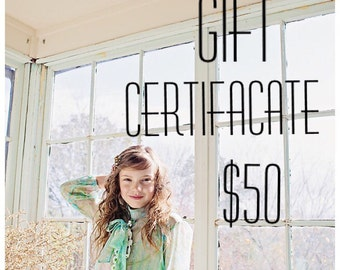 Gift Certificate for berits lilla!!!