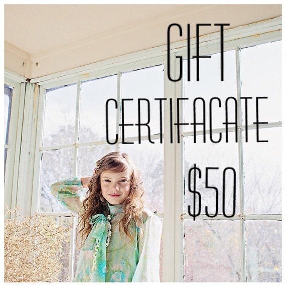 Gift Certificate for berits lilla!!!