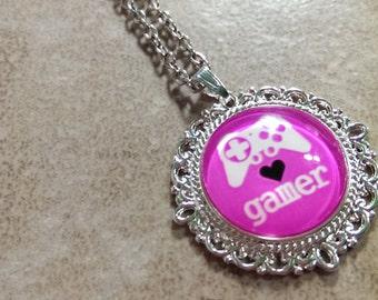 Gamer Girl Necklace
