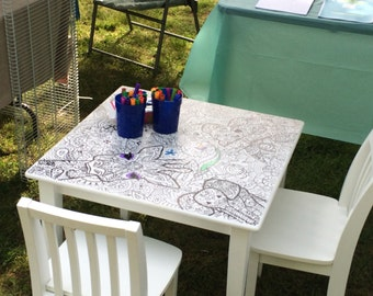 Coloring table